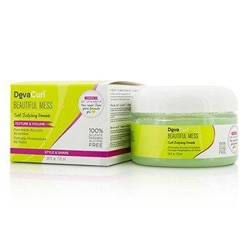 DevaCurl Beautiful Mess (Pomada Esculpidora de Rizos - Textura & Volumen)  115ml/3.8oz
