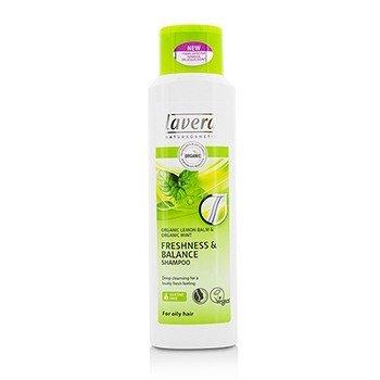 Lavera Organic Lemon Balm & Organic Mint Champú Frescura & Brillo (Para Cabello Graso)  250ml/8.3oz