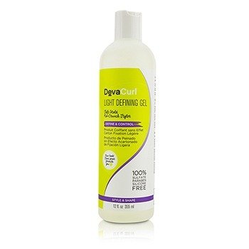 DevaCurl Light Defining Gel (Soft Hold No-Crunch Styler - Define & Control)  355ml/12oz