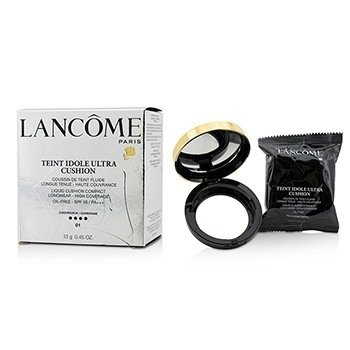 Lancome Teint Idole Ultra Cushion Жидкая Основа Кушон SPF 50 - # 01 Pure Porcelaine  13g/0.45oz