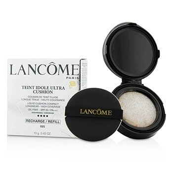 Lancome Płynny podkład do twarzy z filtrem UV Teint Idole Ultra Cushion Liquid Cushion Compact SPF 50 Refill - # 025 Beige Naturel  13g/0.45oz