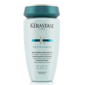 เคเรสตาส Resistance Bain Force Architecte Strengthening Shampoo (For Brittle, Damaged Hair, Split Ends)  250ml/8.5oz
