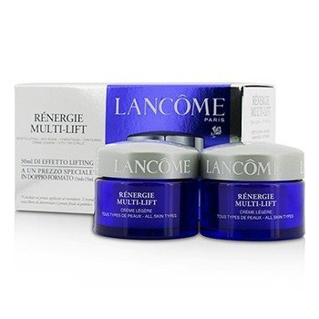 Lancome Renergie Multi-Lift Creme Legere Duo - For All Skin Types  2x15ml/0.5oz