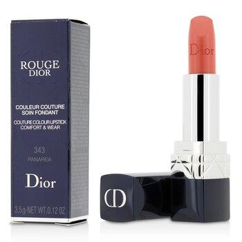 クリスチャンディオール Rouge Dior Couture Colour Comfort & Wear Lipstick - # 343 Panarea  3.5g/0.12oz