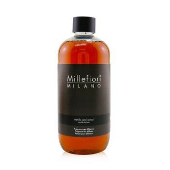 Millefiori Natural Fragrance Diffuser Refill - Vanilla & Wood  500ml/16.9oz