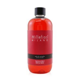 Millefiori معطر طبيعي (عبوة احتياطية) - التفاح والقرفة  500ml/16.9oz