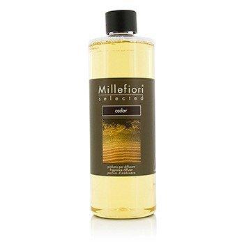 Millefiori Selected Fragrance Diffuser Refill - Cedar  500ml/16.9oz