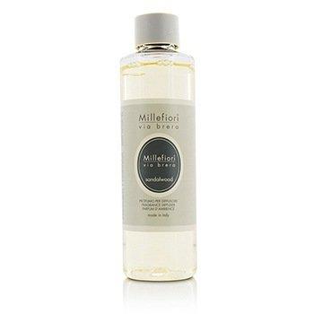 Millefiori Via Brera Fragrance Diffuser Refill - Sandalwood  250ml/8.45oz