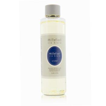 Millefiori Via Brera Fragrance Diffuser Refill - Cristal  250ml/8.45oz
