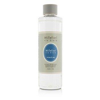 Millefiori Via Brera Fragrance Diffuser Refill - Mineral Sea  250ml/8.45oz
