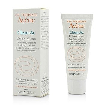 Avene Clean-Ac Cream - For Oily, Blemish-Prone Skin  40ml/1.35oz