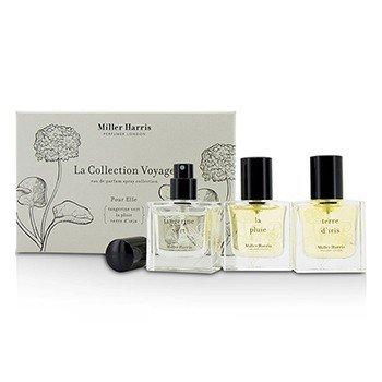 Miller Harris La Collection Voyage Pour Elle Eau De Parfum Spray Colletion: La Pluie + Tangerine Vert + Terre D'Iris  3x14ml/0.47oz