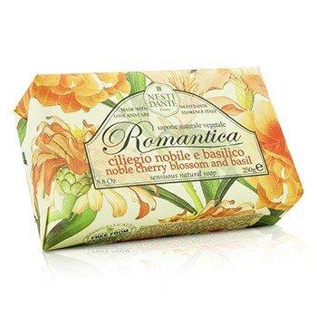 Nesti Dante Romantica Sensuous Natural Soap - Noble Cherry Blossom & Basil  250g/8.8oz