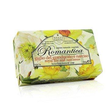 Nesti Dante Romantica Luxurious Natural Soap - Royal Lily & Narcissus  250g/8.8oz