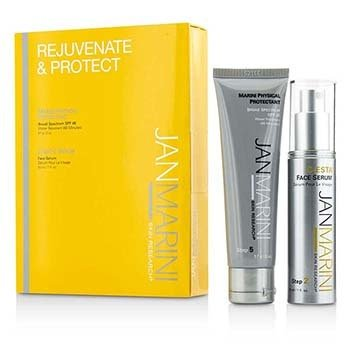 Jan Marini Rejuvenate & Protect Set: Marini Physical Protection 57g + C-Esta Serum 30ml (Exp. Date: 04/2017)  2pcs