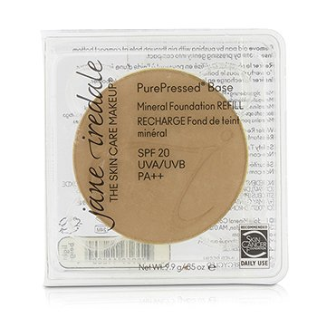 Jane Iredale PurePressed Base Mineral Foundation Refill SPF 20 - Light Beige  9.9g/0.35oz