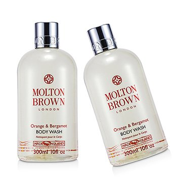 Molton Brown Orange & Bergamot Body Wash Duo Pack  2x300ml/10oz