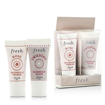 清新 Prime & Glow Set Duo Pack : 1x Mini Rose Freshface Primer, 1x Mini Twilight Freshface Glow  2 Sets