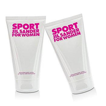 Jil Sander Sport Revitalizing Body Lotion Duo Pack  2x150ml/5oz