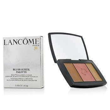 Lancôme Blush Subtil Palette (3x Colours Powder Blusher) - # 385 Plum Elegance (US Verison)  4.5g/0.158oz