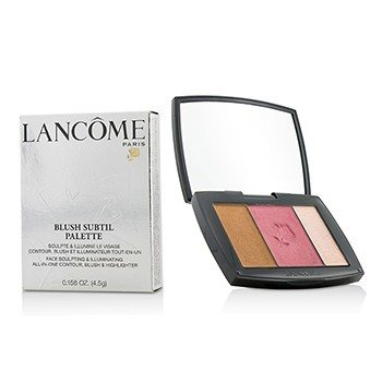 Lancôme Blush Subtil Palette (3x Colours Powder Blusher) - # 341 Petal Pushing (US Verison)  4.5g/0.158oz