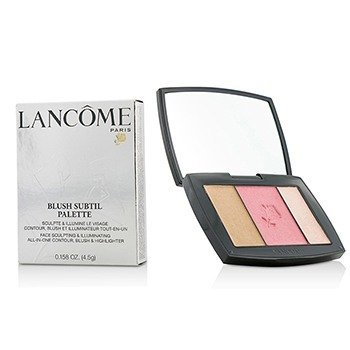 Lancôme Blush Subtil Palette (3x Colours Powder Blusher) - # 323 Rose Flush (US Verison)  4.5g/0.158oz