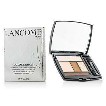 Lancome Color Design 5 Shadow & Liner Palette - # 109 French Nude (US Version)  4g/0.141oz