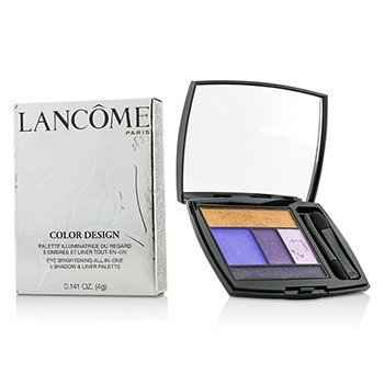 Lancome Color Design Paleta 5 Sombras & Delineadores - # 313 Jacaranda Bloom  4g/0.141oz