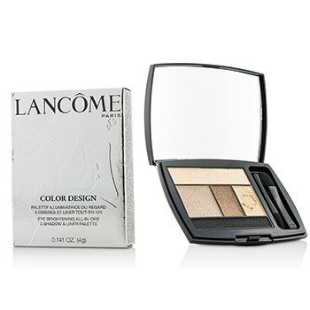 Lancome Color Design 5 Shadow & Liner Palette - # 110 Chocolate Amande (US Version)  4g/0.141oz