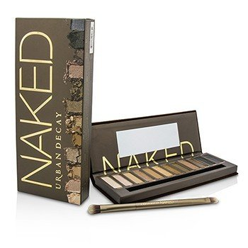 アーバンディケイ Naked Eyeshadow Palette: 12x Eyeshadow, 1x Doubled Ended Shadow/Blending Brush  -