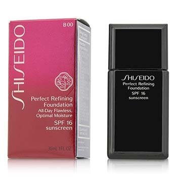 Shiseido Perfect Refining Foundation SPF16 - # B00 Very Light Beige  30ml/1oz