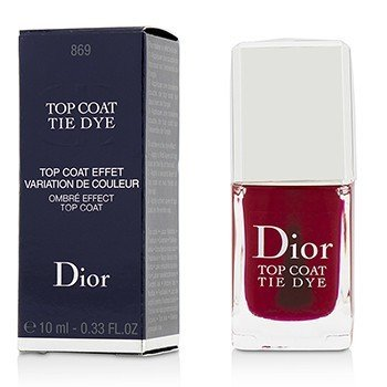 Christian Dior Tie Dye Ombre Effect Верхнее Покрытие - # 869  10ml/0.33oz