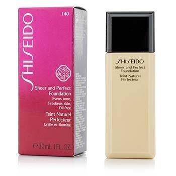 Shiseido Sheer & Perfect Foundation - # I40 Natural Fair Ivory  30ml/1oz