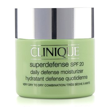Clinique Superdefense Daily Defense Moisturizer SPF 20 (Sangat Kering ke Kombinasi Kering) - Pelembab Wajah  75ml/2.5oz