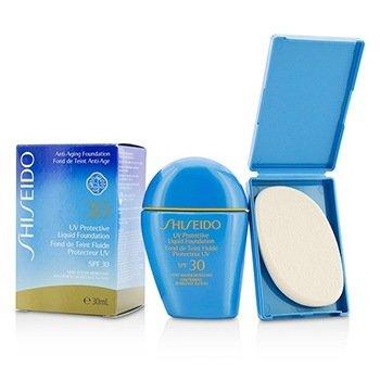 Shiseido UV Protective Liquid Foundation - # SP60 Medium Beige  30ml/1oz