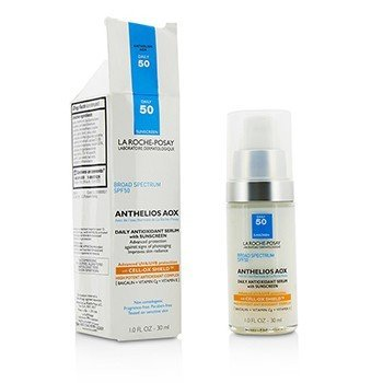 La Roche Posay Anthelios AOX Daily Antioxidant Serum with Sunscreen SPF50 (Box Slightly Damaged)  30ml/1oz
