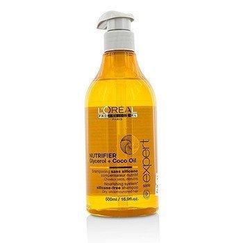 L'Oreal Professionnel Expert Serie - Nutrifier Glycerol + Coco Oil Champú Libre de Silicona (Para Cabello Seco)  500ml/16.9oz