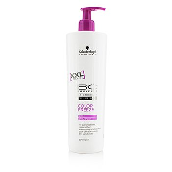 Schwarzkopf BC Color Freeze Rich Shampoo - For Overprocessed Coloured Hair (Exp. Date: 07/2017)  500ml/16.9oz
