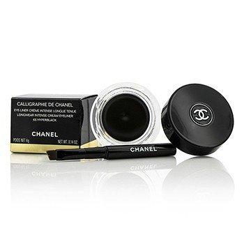 ชาแนล Calligraphie De Chanel Longwear Intense Cream Eyeliner - # 65 Hyperblack  4g/0.14oz
