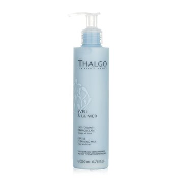 Thalgo Eveil A La Mer Gentle Cleansing Milk (Face & Eyes) - For All Skin Types, Even Sensitive Skin  200ml/6.76oz