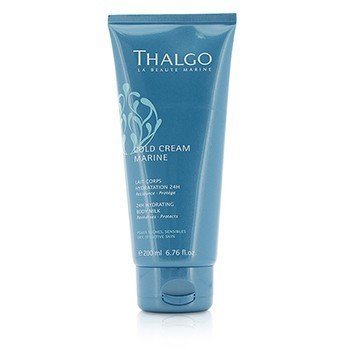 Thalgo Cold Cream Marine 24H Hydrating Body Milk - for tørr, sensitiv hud  200ml/6.76oz