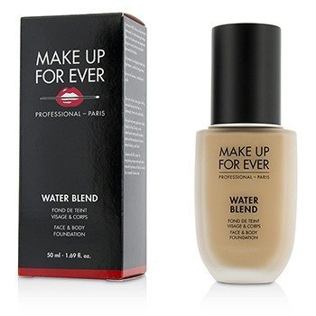 Make Up For Ever Water Blend Base de Rostro & Cuerpo - # R330 (Warm Ivory)  50ml/1.69oz