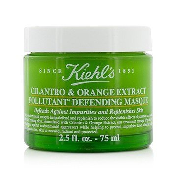 キールズ Cilantro & Orange Extract Pollutant Defending Masque  75ml/2.5oz