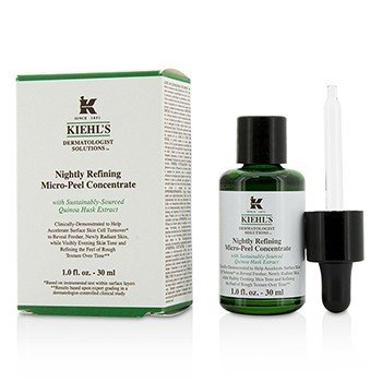 キールズ Dermatologist Solutions Nightly Refining Micro-Peel Concentrate  30ml/1oz