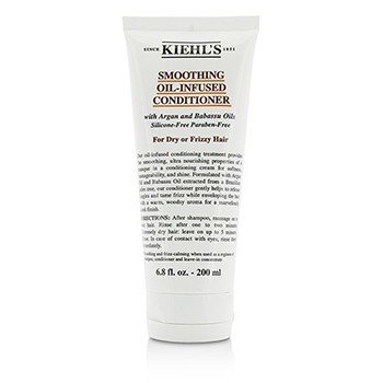キールズ Smoothing Oil-Infused Conditioner (For Dry or Frizzy Hair)  200ml/6.8oz