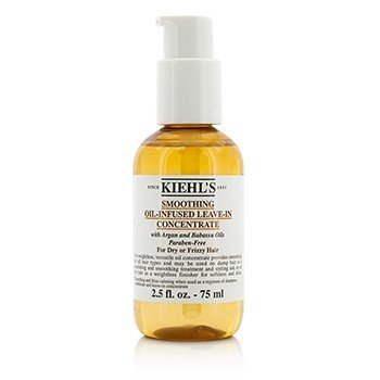 Kiehl's Smoothing Oil-Infused Leave-In Concentrate (For Dry or Frizzy Hair)  75ml/2.5oz