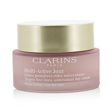 Clarins Multi-Active Day Targets Fine Lines Antioxidant Day Cream - For Dry Skin (Unboxed)  50ml/1.6oz
