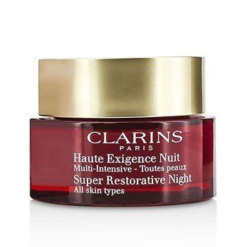 Clarins Super Restorative Night Age Spot Correcting Replenishing Cream - For Very Dry Skin (Unboxed)  50ml/1.6oz