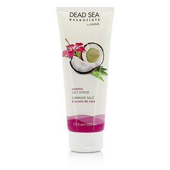 Ahava Dead Sea Essentials Coconut Exfoliante de Sal  220ml/7.5oz