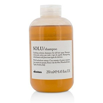 Davines Solu Clarifying Solution Shampoo (For All Hair Types)  250ml/8.45oz